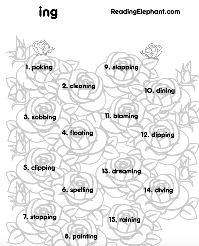 ing worksheets