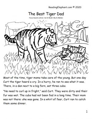 phonics book - best tiger dad
