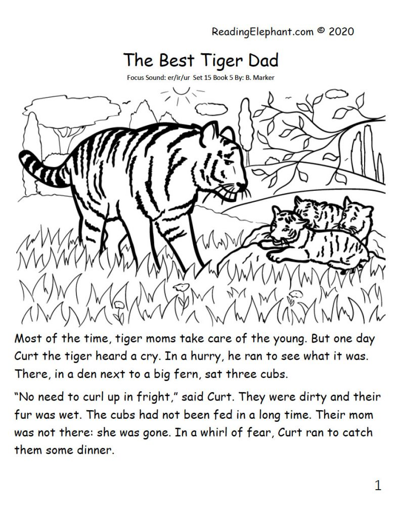 phonics book - best tiger dad