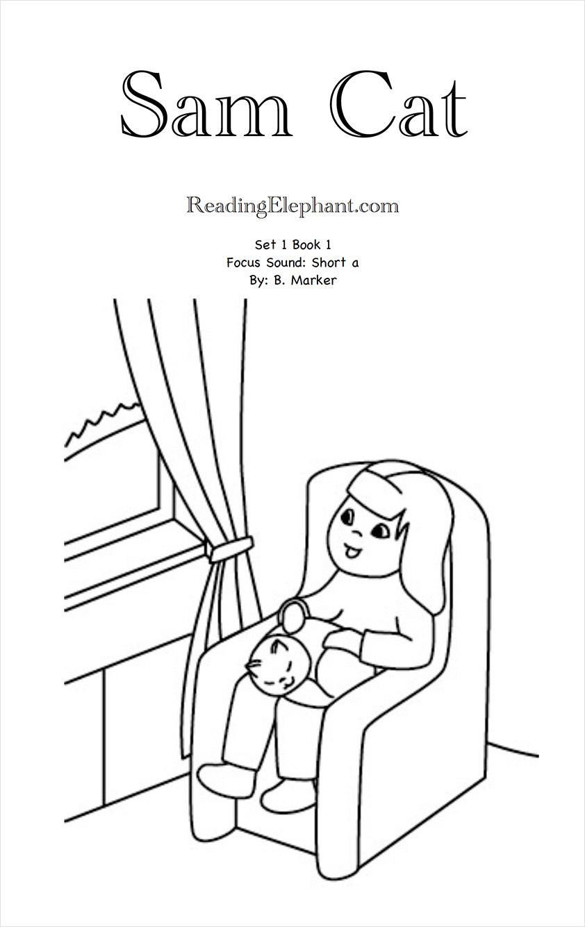 Printable Phonics Books Series 1 5 The Reading Elephant